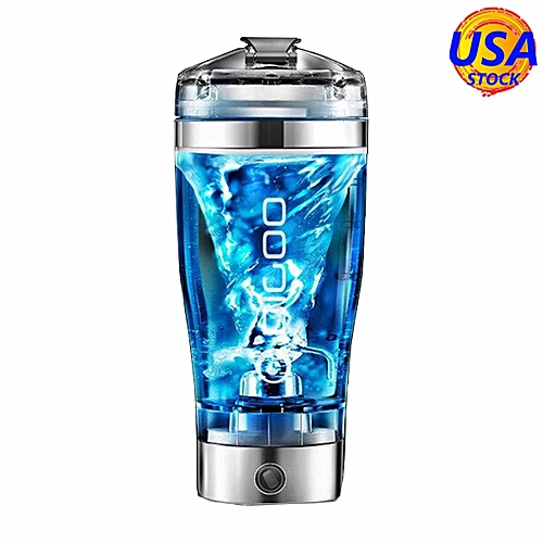 DIGOO 600ML USB Rechargeable Blender Electric Protein Shaker Bottle 9000RPM NEW