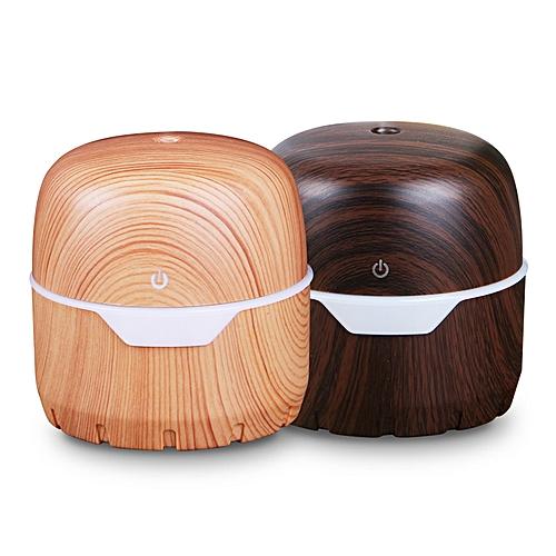 300ml Usb Air Diffuser Ultrasonic Home Humidifier Wood Grain