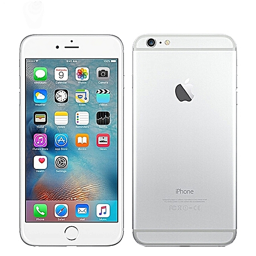 """IPhone 6 Plus 5.5"""" 64GB With Finger Sensor 4G LTE (Gift) --Silver"""