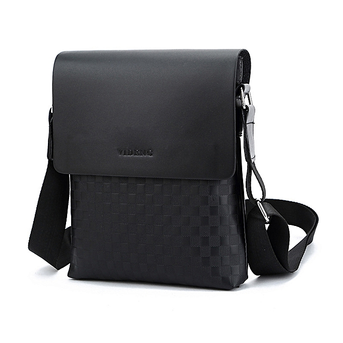 deb4817be8de Men Business Messenger Bag Cross Body Male Fashion Casual Single Shoulder  Bags Briefcase Black
