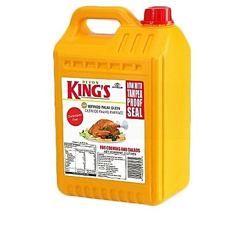 DEVON KING'S 5 Liters Pure Vegetable Cooking Oil