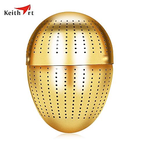 Keithart Ti5721 Pure Titanium Creative Egg-shaped Tea Infuser