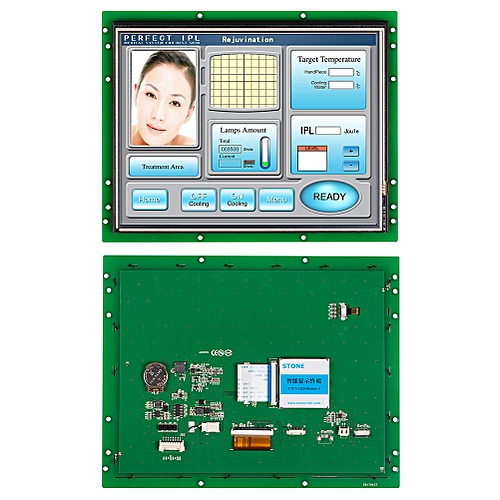 """10.4"""" Serial Interface TFT LCD Controller Touch Screen"""