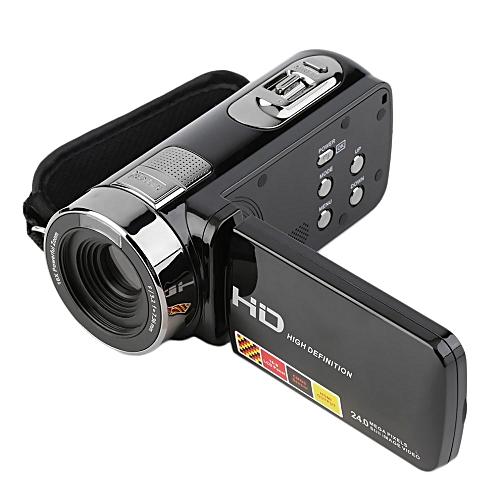 3.0 Inch FHD 1080P 16X Zoom 24MP Digital Video Camera Camcorder DV (Black)