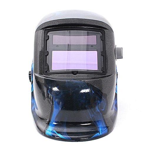 Blue Flame Solar Auto-Darkening Welding Helmet Arc Tig Mig Mask Grinding Welder