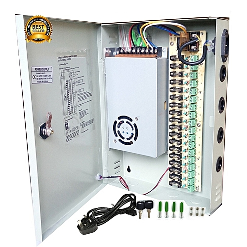 Brilliant Cctv 18 Channel Cctv Power Supply Dc 12V With Splitter Fuse Box Wiring Database Numdin4X4Andersnl