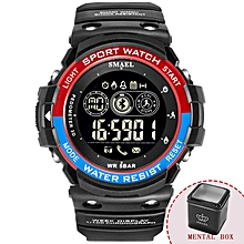 Digital Wristwatches Waterproof Men Watch Sport Military Big Clock Men Smart LED Watch 1602 Smart Bluetooth