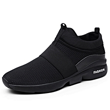Used, Sports Shoes X666 Lightweight Breathable Cushioning Lace Up Casual Shoes For Men - Black for sale  Nigeria