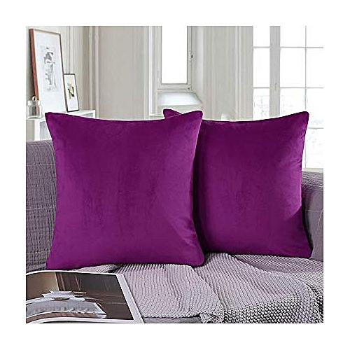 Magmax Throw Pillow Set-Purple- 2pillows