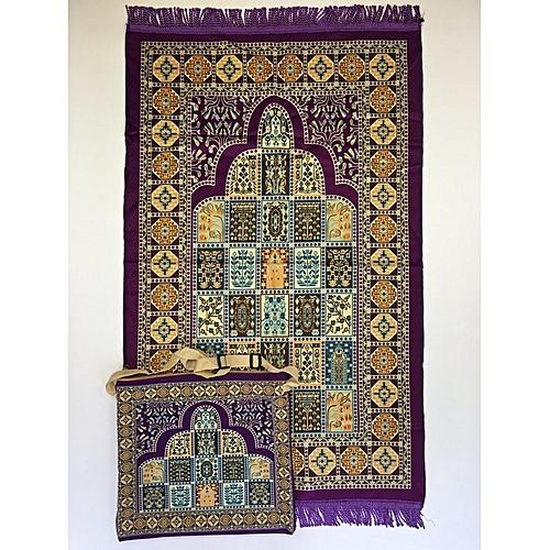 Muslim Prayer Mat With Bag For Travel Bag Prayer Mat ,Islam Prayer Rug With Bag Sets HGP-015 3D Print