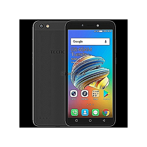 POP 1 (F3) 5 5-Inch IPS (8GB ROM + 1GB RAM) Android 7 0 Nougat, 5MP + 5MP  Dual SIM 3G Smartphone - Black