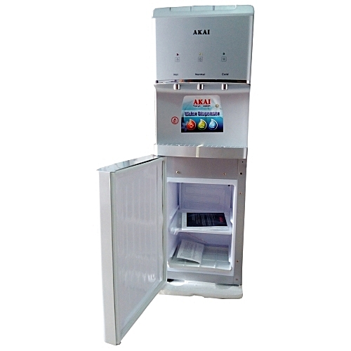 AKAI 3 Taps Water Dispenser With In-Built Fridge - WD021A-103