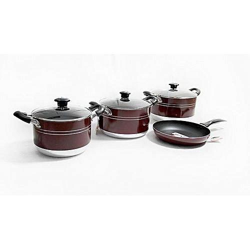 7Pcs Non Stick Cookware Set