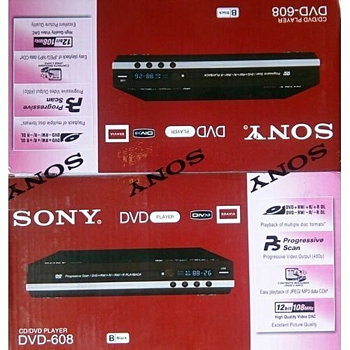 Sony DVD Player DVD-608
