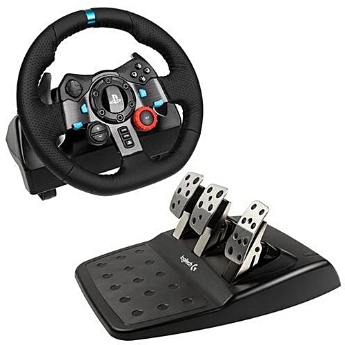 a7b4d115b4b Logitech Logitech Dual-motor Feedback Driving Force G29 Racing Wheel With  Responsive Pedals For PlayStation 4 And PlayStation 3