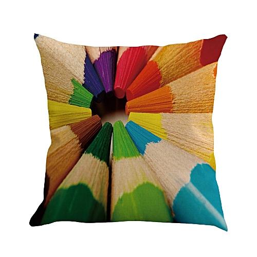 Fashion Pattern Pillowcase Pillow Case Cushion Cover Sofa Home Car Decor