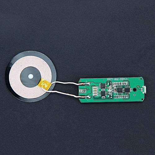 Generic Yingwaias Qi Wireless Charger PCBA Circuit Board Coil Wireless Charging Micro USB Port DIY