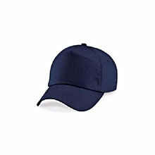 b426ef4da54297 Men's Plain Baseball Face Cap - Navy Blue
