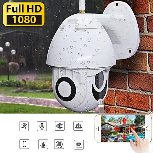 Opaopani Wireless 5X Zoom HD 1080P Outdoor IP Camera Security Wifi Waterproof TF EU