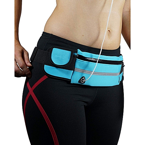 b0523a9e16c4 Running Belt Waist Pack - Water Resistant Runners Belt Fanny Pack For  Hiking Fitness – Adjustable Running Pouch For All Kinds Of Phones IPhone ...