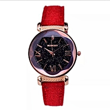 194a15864cf7 Ladies Elegant Quartz Wristwatch - Red