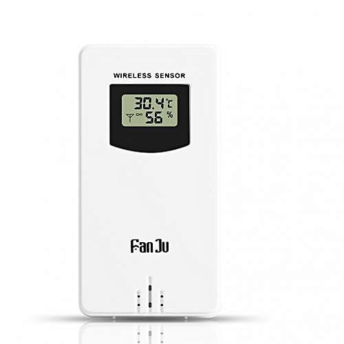 Temperature Humidity Wireless Sensor - White