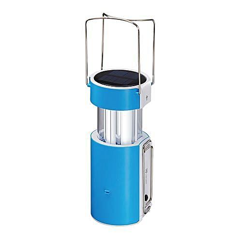 Newly Designed Portable LED Lantern + In-Built Solar Panel