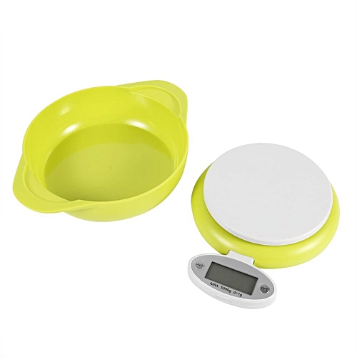 5Kg/1g Display Electronic Digital Kitchen Food Scales Weighing With Bowl Home Kitchen Tool