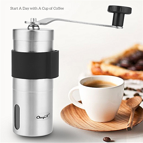 Manual Coffee Grinder With Ceramic Burrs Hand Coffee Mill