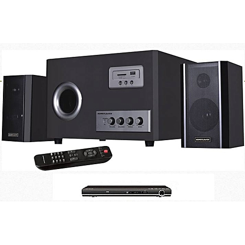 Home Theater System - Hf8800/2.1 And DVD Player Attached
