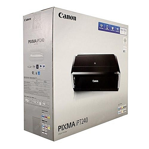 Pixma IP7240  (CD/DVD/Direct On Plastic I D Card/Documents/Passport And  Full Photo Printing Machine)