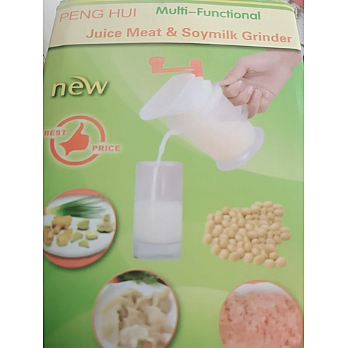 Beans Blender For New Improved Wider-Mouth Multifunctional Manual , Nuts And Soya Bean Grinder/Crusher