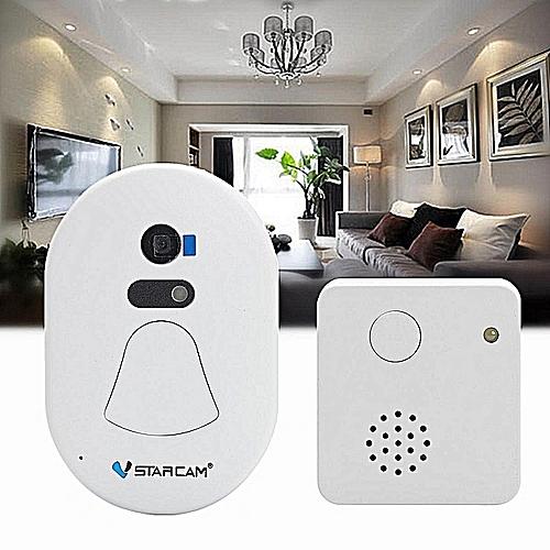 Digital Alarm Doorcam Wireless WiFi Doorbell Video Record Photo Cloud Storage