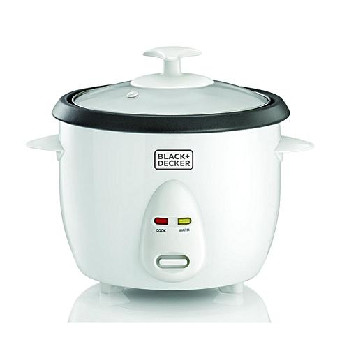 1.0 Liter Non-Stick Rice Cooker, White - RC1050-B5