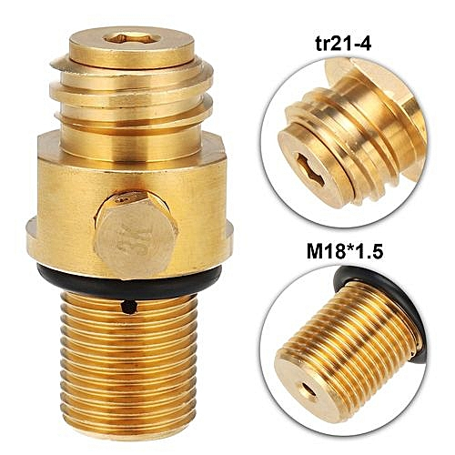 M18 Replacement CO2 Tank Brass Pin Valve For Soda Stream