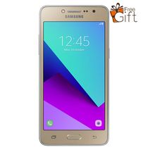 Galaxy Grand Prime Plus 4G LTE 5.0-Inch (1.5GB + 8GB ROM), 8MP  + 5MP Camera - Gold With Free Tempered Glass & Back Case