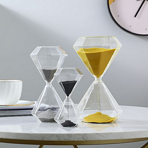 Nordic Style New Hourglass Timer Decoration Gift Ornament