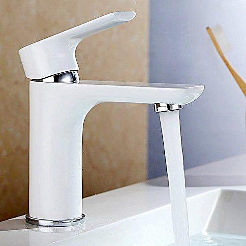 White Kitchen Sink Tap Basin Mixer Home Hotel