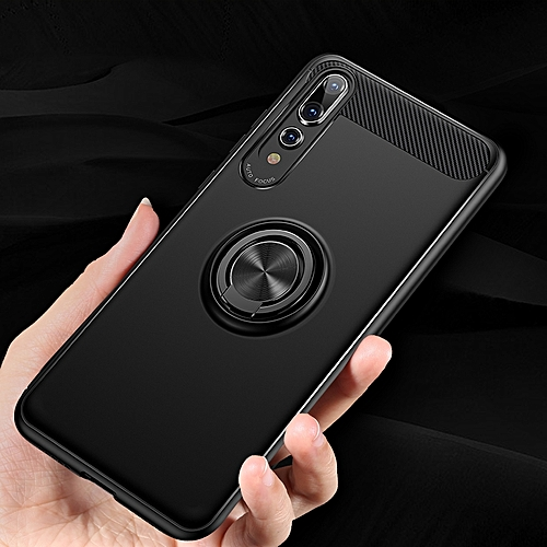 finest selection 6f172 fd2cb Bakeey 360° Adjustable Metal Ring Magnetic PC Protective Case For Huawei  P20 / P20 Lite / P20 Pro