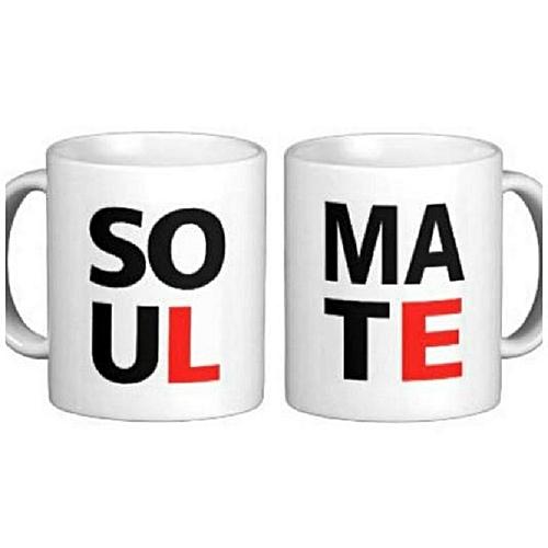Couple Soulmate Printed Mug