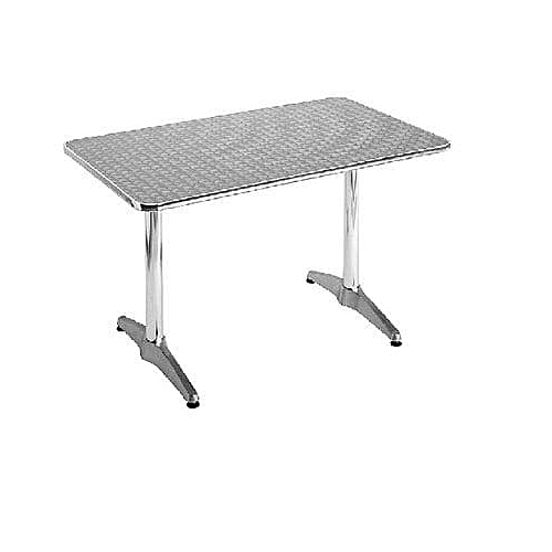 Aluminium Rectangular Table - 4ft
