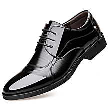 a6624546702 Men Shoes PU Leather Office African Style Spring Autumn Winter Summer  Business Splice Frenulum Black