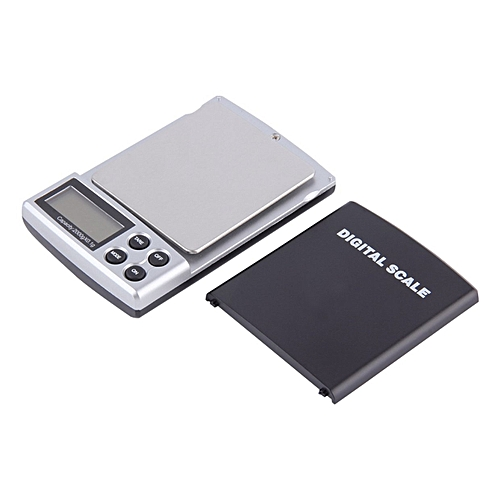 Portable Digital LCD Pockets Weighing Balance Scale 300g/0.01g 2000g/0.1g