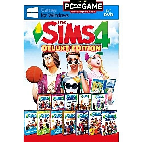 SIMS 4 DELUXE EDITION