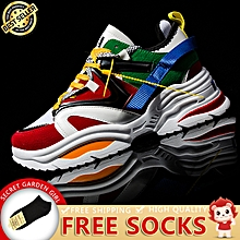 new product a2960 7fac0 2018 Fashion Sports Shoes Breathable Wild Men  039 s Casual Shoes