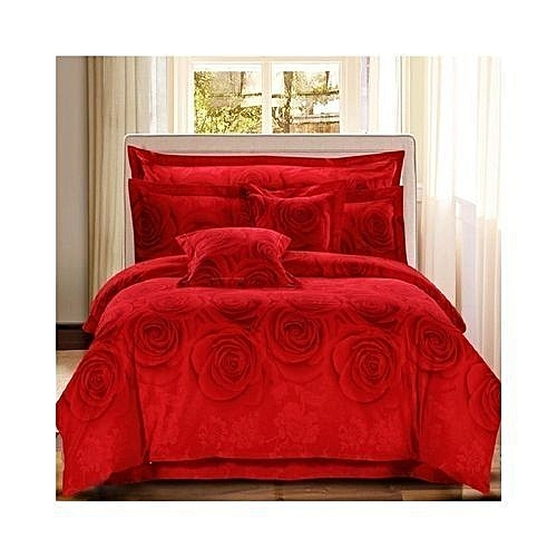 Bedsheets & Duvet With 4pillow Cases