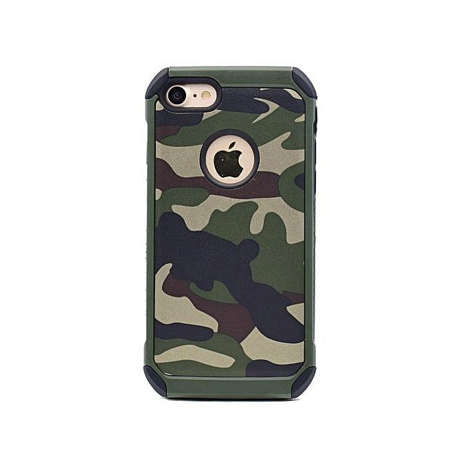 the best attitude fed22 65150 Camo Case For IPhone 6 6S, Two In One Army Camo Camouflage Pattern PC+TPU  Armor Anti-knock Protective Back Cover For Apple IPhone 6 / 6s