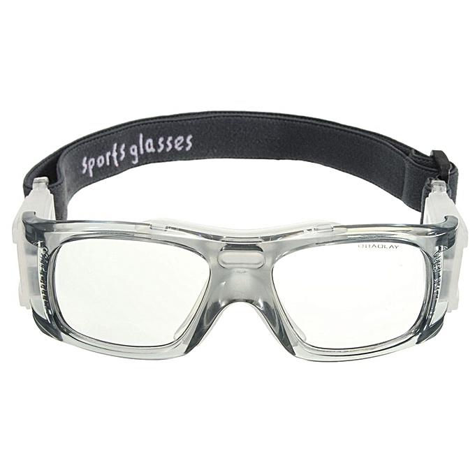 8df31262f12 Basketball Soccer Football Sports Glasses Protective Eyewear Bike Eye  Goggles Em Grey