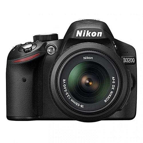 Nikon D3200 Kit 18-55mm Lens 24.2MP+8GB+Bag