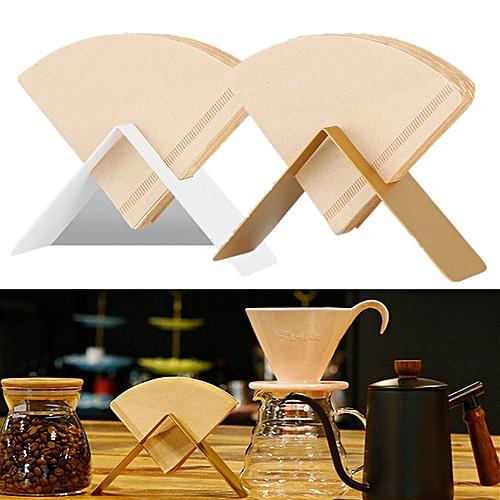 V60 Pour Over Coffee Filter Paper Holder Storage Cafe Metal